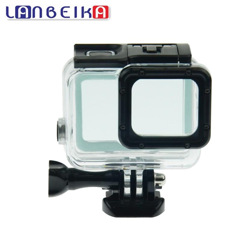 LANBEIKA For Gopro 45M Protective Diving Waterproof Housing Case for GoPro Hero 6 5 Hero5 Hero6