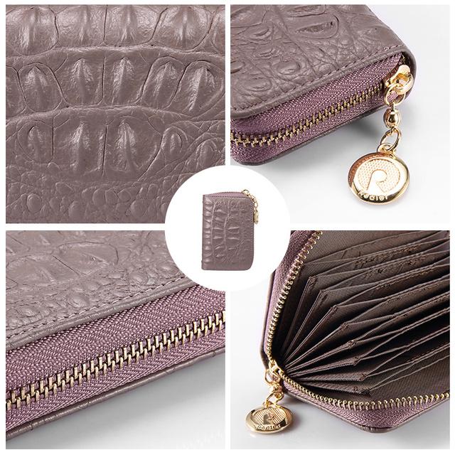 Mini tegnebog ægte læder