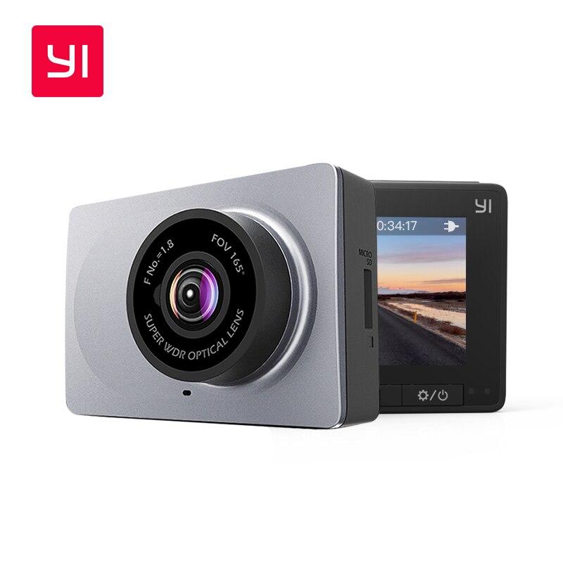YI смарт-dash Камера 1080 P видео Регистраторы Видеорегистраторы для автомобилей Wi-Fi Full HD Cam Ночное видение 2,7 165 градусов 60fps ADAS безопасный напоми...