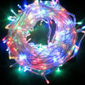 led String Light 100 LED 10M Christmas/Wedding/Party/holiday Decoration Lights AC 110V 220V outdoor Waterproof led lamp