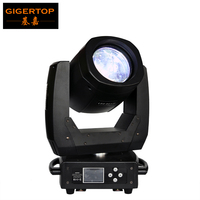Gigertop TP L654 150W Led Moving Head Beam Spot Light High Power Scanner Beam 8000K 120W White Lamp Pan 540/Tilt 270 Degree