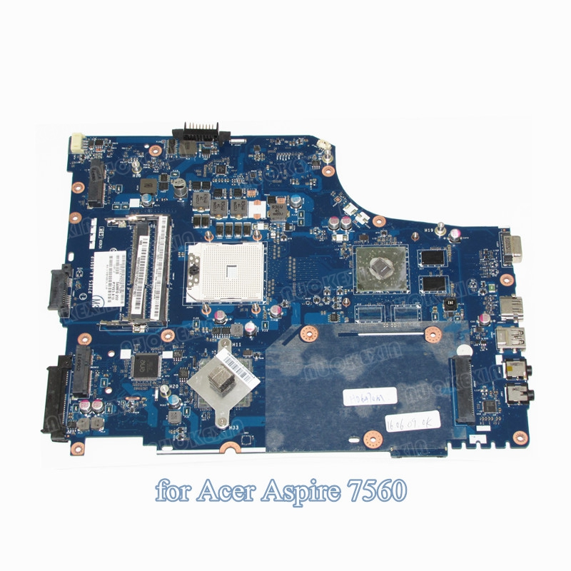 NOKOTION laptop motherboard For acer aspire 7560 7560G HD 6470M DDR3 P7YE5 LA-6991P MBBYS02001 MB.BYS02.001