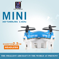 2.2cm Mini Dron 2.4G 4CH 6Axis Gyro Quadrocopter With Switchable Controller RC Helicopter Micro Copter