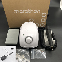 MARATHON Champion 3 102L Handle 35000rpm Electric Nail Drill STRONG 210 Micro Motor Grinding Machine For Nail Art Tools