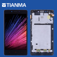 NEW 5 5 Tested LCD For XiaoMi RedMi Note Display Touch Screen Digitizer Frame 4G LTE