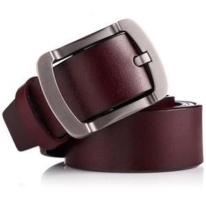 Image 5 - FAJARINA Kwaliteit Koeienhuid Dames Koeienhuid Leather Match Retro Eenvoudige Sluiting Stijl Riemen voor Mannen Mode Stijlen Jeans N17FJ501