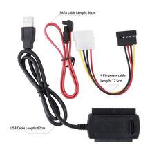 Chegada SATA/PATA/IDE Unidade para USB 2.0 Adaptador Conversor Cabo para 2.5/3.5 Polegada Disco Rígido 2425 #