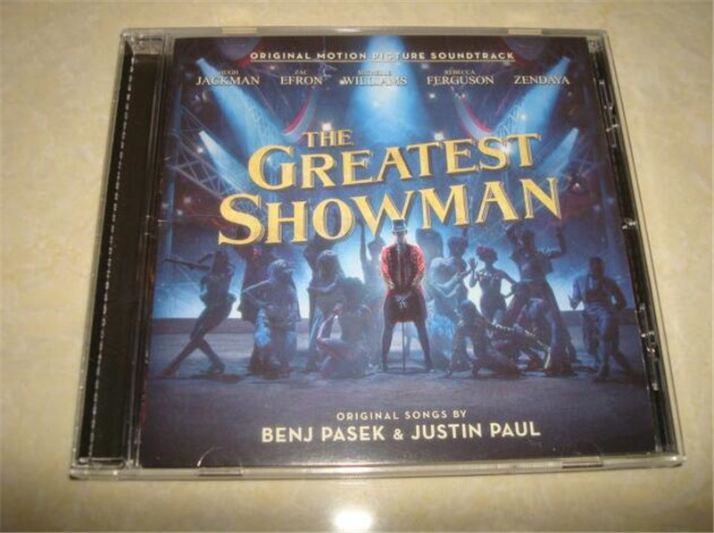 Free Shipping: The Greatest Show.man Soundtrack OST 2017 CD Seal ...