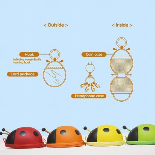 SF031Ladybug card bags