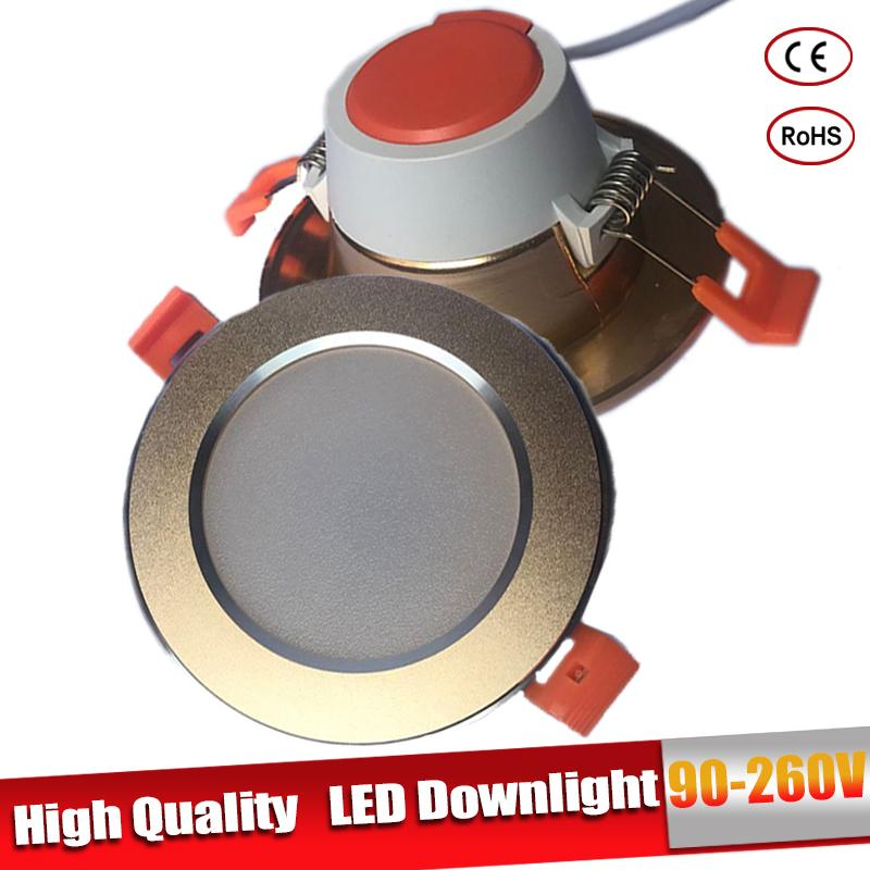 Focos Led Techo Led Downlight Led Bulb 15W 12W 9W 5W 3W Round 220V 230V 240V For Bedroom Kitchen Indoor LED Spot Light
