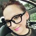 Marca Monturas de gafas de Diseño Óptico Marco de Los Vidrios de gran tamaño Gafas de Equipo Grande ojo marcos de los vidrios para las mujeres de Los Hombres Oculos De Grau