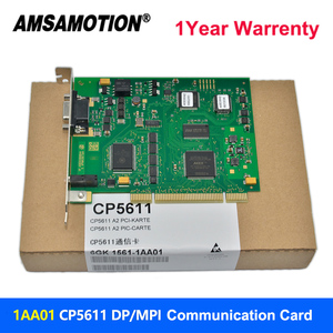 Image 2 - Amsamotion CP5611 A2 Communication Card 6GK1561 1AA01 Profibus 6GK15611AA01 DP CP5611 Suitable Siemens Profibus/MPI PCI Card