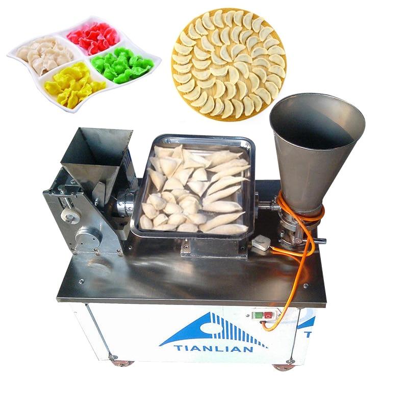 Stainless steel automatic make dumplings machine 220V 2.2KW 1pc household dumpling machine small imitation dumpling machine