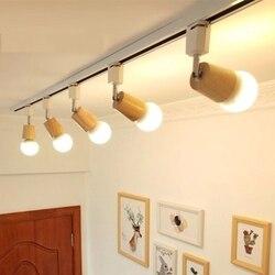 LukLoy Nordic Stil LED Strahler für Wohnzimmer Foyer LED Downlight Hintergrund Cafe Track Licht Lampe Downlight Flecken Beleuchtung