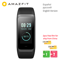 Global Version Huami Amazfit Band Cor 2 Smart Bracelet 5ATM Waterproof 2.5D Color IPS 316L Stainless Steel Frame For Android IOS