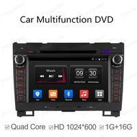 2 Din Android 4.4 Full Touch Panel GPS Navigation Car DVD Radio Player for Greatwall h3 h5 hover Quad Core Mirror Link Wifi BT