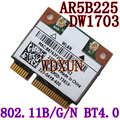 Mini Pci-e AR5B225 Wifi Rede Wireless Lan Card Apto Para Dell Vostro 470 2420 2710 V1440 1450 1540 1550 DW1703 DW1703 AR5B225