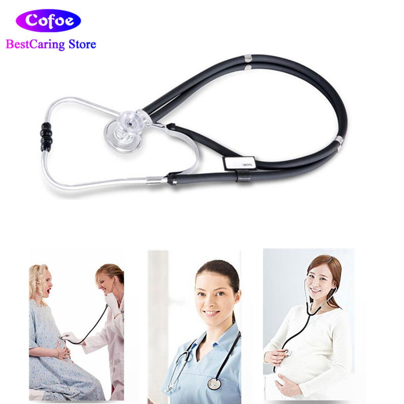 Cofoe Sprague Rappaport Stethoscope Dual Head Littmann Stethoscope With Adult, Pediatric, and Infant Convertible Chestpiece