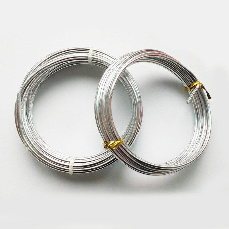 Handwerk draht aluminium draht Silber aluminium draht bonsai draht ...