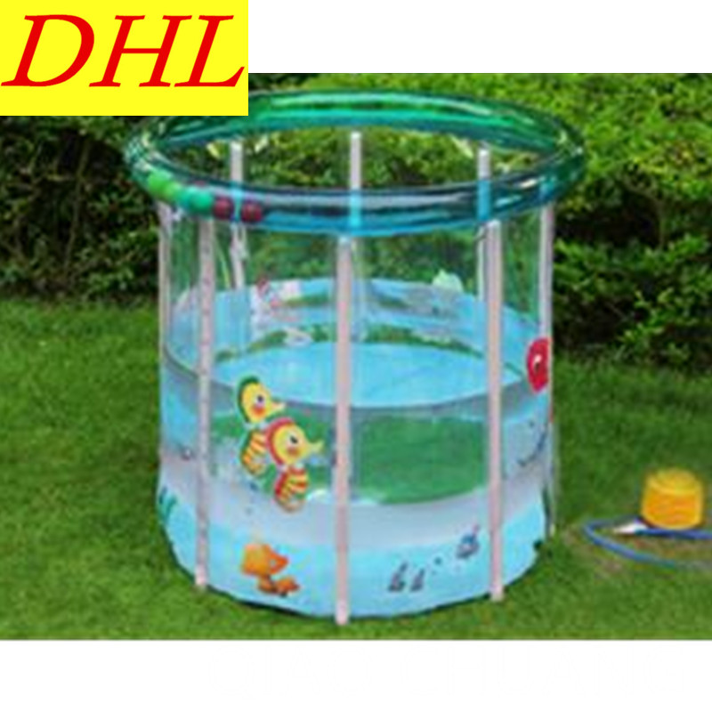 Inflatable Baby Wash Tub Creative Cartoon Printing Children Swimming Pool PVC Thicken Wear-resistant Paddling Pools G972 dual slide portable baby swimming pool pvc inflatable pool babies child eco friendly piscina transparent infant swimming pools