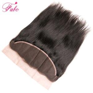 Image 3 - FABC бразильские кружевные фронтальные прямые волосы 13x4 свободная часть от уха до уха 130% плотность Remy волосы Бесплатная доставка 22 дюйма