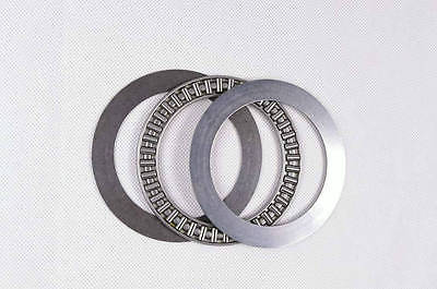 ФОТО 10pcs 75 x 100 x 4mm AXK75100 Thrust Needle Roller Bearing With Two Washers Each