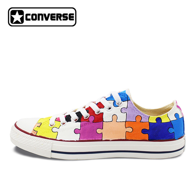 Converse All Star Low Christmas Shoes