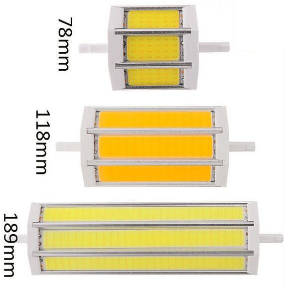 <font><b>R7S</b></font> COB <font><b>led</b></font> bulb <font><b>R7S</b></font> <font><b>led</b></font> lights 78mm118mm <font><b>135mm</b></font> 189mm 10W 15W 20W 25W light lighting lamp AC85-265V replace halogen floodlight image