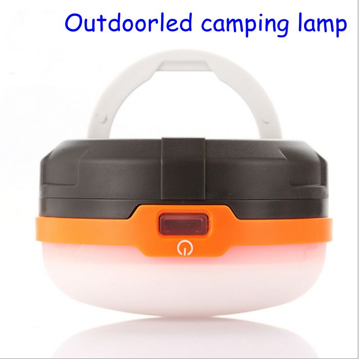 2016 new Outdoor led Camping Lamp Tent Light with Handle Camping Lantern Hiking Campsite Hanging Lamp Portable Lanterns
