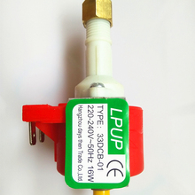 Miniature solenoid pump model 30DCB-01 Power 220-240V-50HZ-16W CE certified products free shipping 4 5kw380 415v 50hz heavy duty energy conversation competitive prices steam generator ce certified