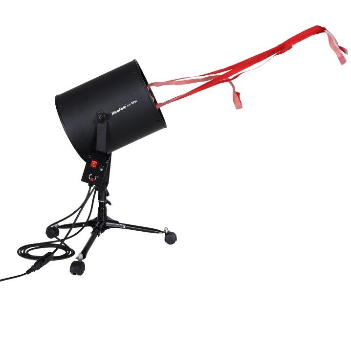 220 В NICEFOTO SF-01 профессиональной фотографии посвященный волосы вентилятор для студии флэш