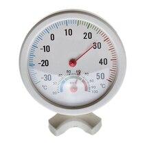 АКЦИЯ! термометр гигрометр иглы круглый циферблат ТЕСТЕР интерьер экстерьер белый