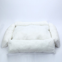 Plaid Cotton Dog's Lounger Sofa