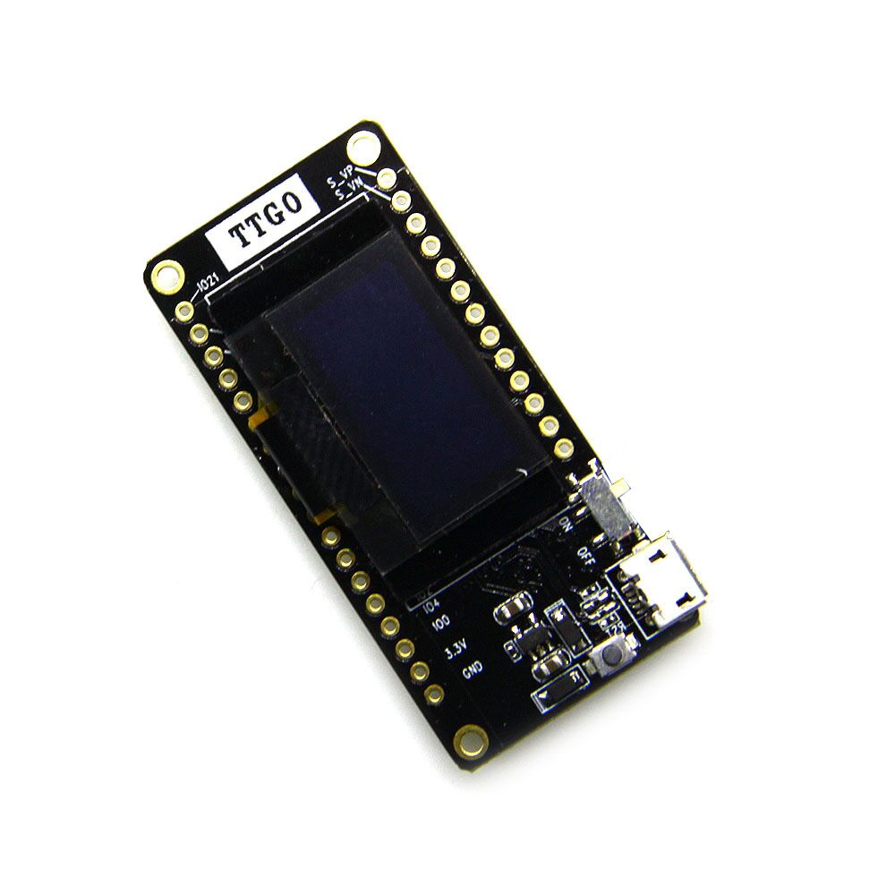 1 Pcs TTGO LORA32 V2.0 433/868Mhz ESP32 LoRa OLED 0.96 Inch Blue Display SD Card ESP-32 WIFI Bluetooth Module