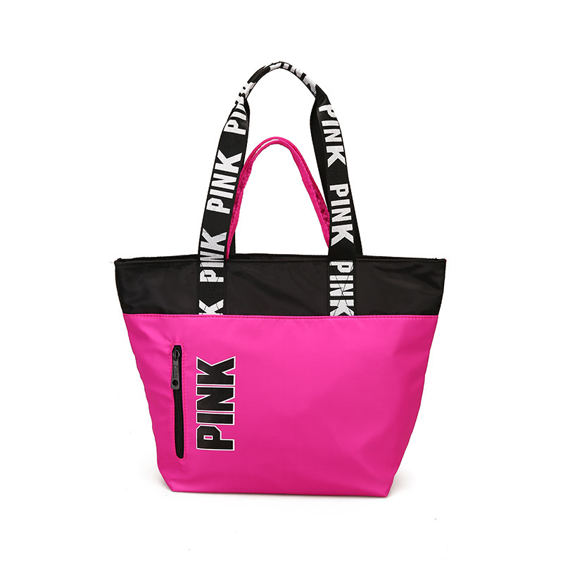 Us 11 72 33 Off Oxford Pink Multifunctional Outdoor Women Sport Bag Training Gym S Sports Handbags Fitness For Yoga Mat In