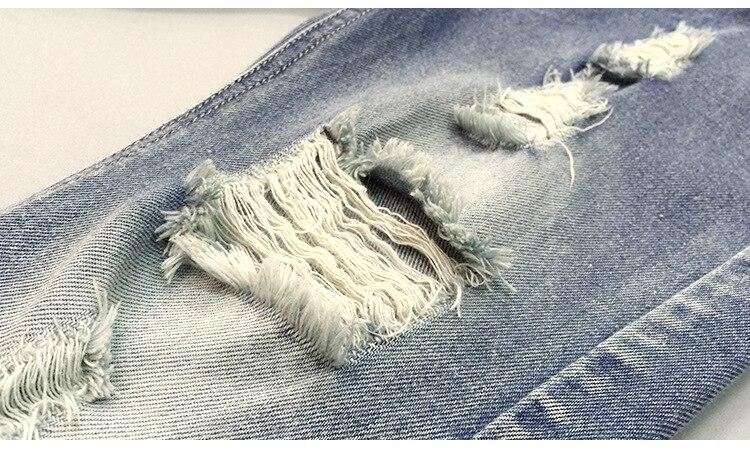 Spodnie MXTOPPY dla dzieci z pękniętymi otworami dla chłopców - Ubrania dziecięce - Zdjęcie 5