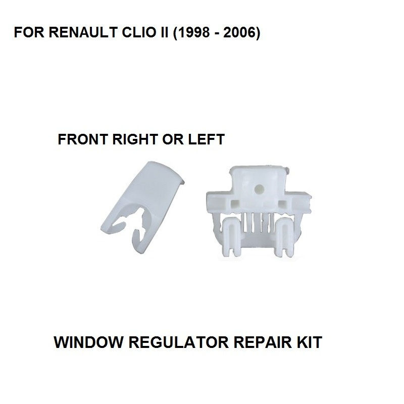 1998-2006 WINDOW REGULATOR COMPLETE CLIP FOR RENAULT CLIO II WINDOW REGULATOR REPAIR CLIP FRONT-LEFT