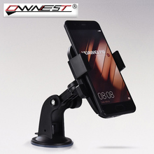 Ownest Universal Car Windshield Mobile Phone Holder Bracket With Locking Suction Mount For oneplus 5 For xiaomi redmi note 4x