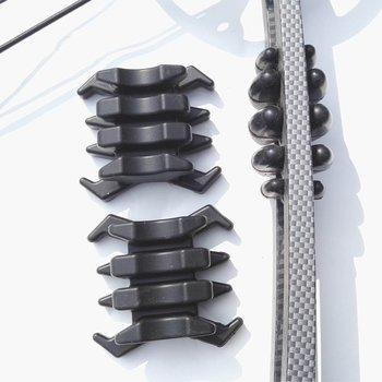 1 para łucznictwo gumowe łuk kończyny tłumik drgań tłumik stabilizator tłumiki dla dzielonych kończyn związek łuki tanie i dobre opinie Łuk i strzały 6 lat 04PXJZ01BL Black Green