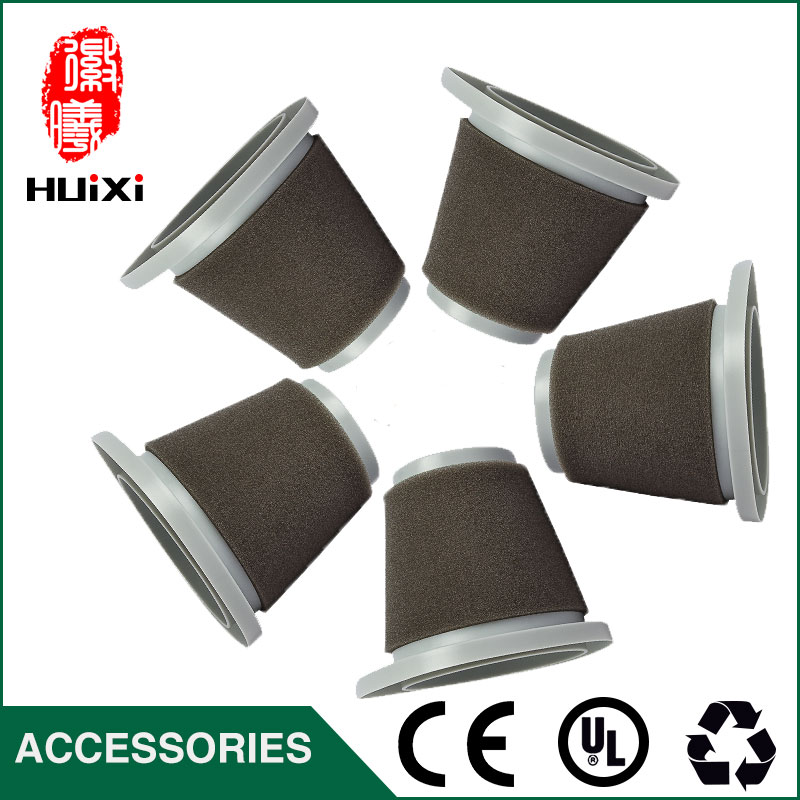 все цены на 10pcs hepa filter+10pcs cotton+10 pcs skiver of  vacuum cleaner parts for vacuum cleaner air filter ZL601R ZL601A онлайн