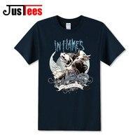 In Flames Rock Band T Shirt Short Sleeve Men S Fashion T Shirt Death Metal Tee