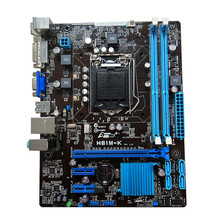 Подержанные оригинальная для H61M-K LGA1155 DDR3 16 Г