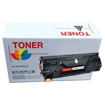COAAP 83A CF283A (1-Pack Black) Laser Toner Cartridge Compatible for HP LaserJet Pro MFP M127fn/fw/125NW/125 compatible for 312x 312a cf380x cf380a cf381a cf382a cf383a 4 pack kcmy toner cartridge for hp color laserjet pro m476dn mfp
