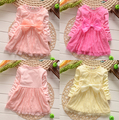 Girls Dress Children's Princess Dresses lace party Kids Dress for Girl 2015 Brand New Style baby clothes