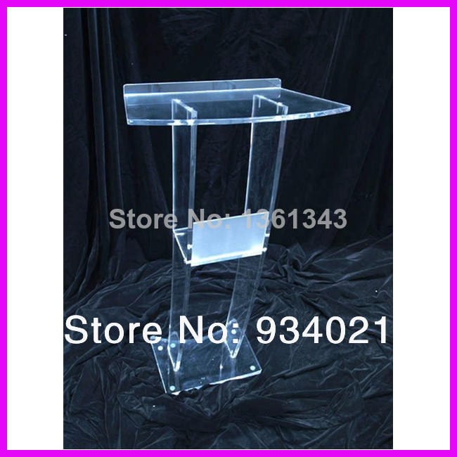 Hot sellingEye-Catching Multifunction Clear Acrylic Podiums