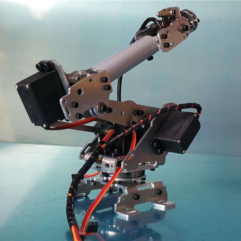 6 DOF CNC aluminum robotic arm (8)