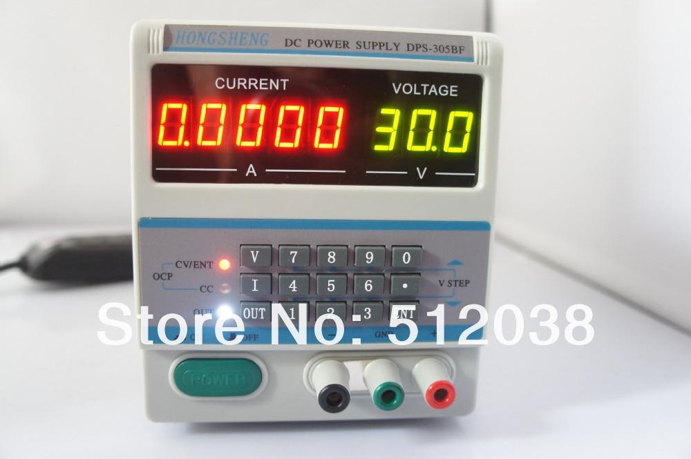 DPS-305BF Digital Control 30 V 5A DC Laboratorium Verstelbare Voeding Voor Laptop Reparatie 110 V/220 V