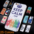 2017 New Arrival Phone Capa For Apple Iphone 6 6s Ultra Thin Plastic Printed Back Covers For Iphone6 6s Case