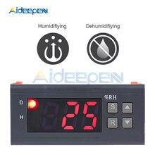 MH13001 AC220V Digital Air Humidity Controller 1%RH - 99%RH Hygrostat Humidistat Humidification Dehumidification Tool