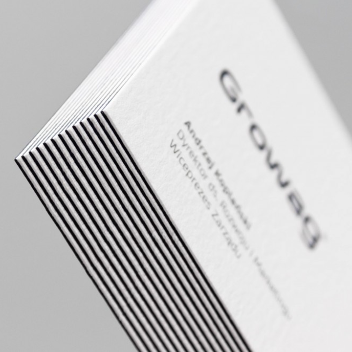 600gsm black and white paper duplex business card-in Business Cards ...